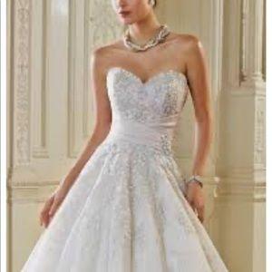 Dresses & Skirts - NWT Sophia Tolli Ida Pewter wedding dress